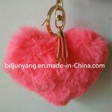 Chaîne principale de gland de la forme POM POM de coeur