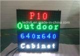 pantalla al aire libre 32*16/320*160m m de la visualización de LED de 10m m SMD LED para hacer publicidad de P10 P8 P6