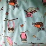 flanella 100%Cotton stampata per i pigiami