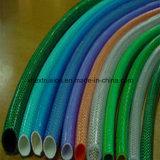 Macchina di plastica dell'espulsione del PVC del giardino di produzione ondulata a parete semplice del tubo che fa riga