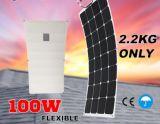 El panel semi flexible solar flexible alto del panel de la eficacia 100W Sunpower