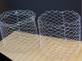 六角形ワイヤー網を得るPVCによって塗られる電流を通された金網