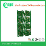 녹색 땜납 가면 백색 오바레이 엄밀한 PCB 널