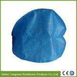 Protezione non tessuta fatta a macchina dell'infermiera con elastico