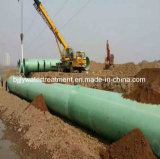 Pipe et garnitures de la distribution de l'eau de GRP/FRP