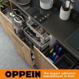 Oppein 360cm de Houten Pre-Assembled Keukenkast van de Korrel (OP17-HPL01)