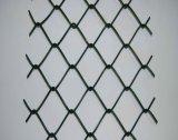 Guarniciones galvanizadas de la cerca de la conexión de cadena, postes temporales de la cerca de la conexión de cadena