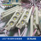 LED 4개 피스는 0.96W 12V를 가진 LED 모듈을 잘게 썬다