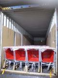 drücken das rote Einkaufen des Supermarkt-125L Laufkatzen für Verkauf von Hand ein