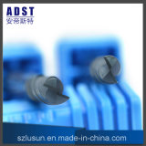 고품질 50HRC 2flute 텅스텐 강철 끝 선반 절단기