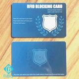 プラスチックIDは安全な保護盾のためのカードを妨げるRFIDを欠く
