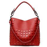 Горячей мешки Tote повелительниц сумки способа синтетической обитые кожей с цепью Sy7996 металла