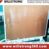El panel compuesto de aluminio de Willstrong PVDF/Pet