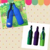 Refroidisseur isolé par coutume de bouteille de vin du néoprène, support de bouteille à bière (BC0065)