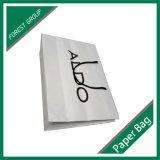 Подгонянный мешок Kraft конструкции белый бумажный с низкой ценой