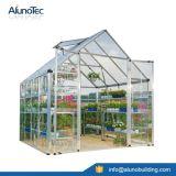 유리제 온실은 판매를 위한 정원 온실 온실 디자인 정원에 의하여 이용된 온실을 조립식으로 만들었다