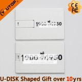 Изготовленный на заказ привод вспышки USB подарка визитной карточки металла логоса (YT-3101-03)