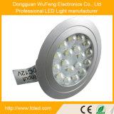 Indicatore luminoso della visualizzazione dell'indicatore luminoso della vetrina dell'indicatore luminoso del disco di gomma di Recesssed LED