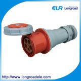 Zoccolo industriale industriale 5p 63A/125A dello zoccolo & della spina IP67