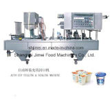 Cadena de producción completa entera de la máquina del yogurt congelado