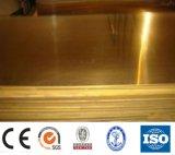 Hoja de cobre amarillo H59 para el uso de la industria