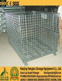 للطي شبكة أسلاك الفولاذ البليت الحاويات لمستودع التخزين