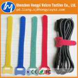 Hook & Loop reutilizable materiales de nylon de uniones de cable