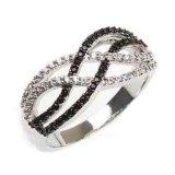 925 de Zilveren de Vrije Juwelen van de Ring Steling, Juwelen van de Manier, Lood en Nikkel (KR3084)