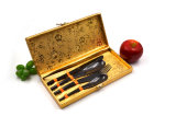 Roestvrije Cutlery voor het Roestvrij staal 4PCS Cutlery Set Made van Family Use High Class in China