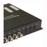 Transmisor óptico del transmisor-receptor óptico analogico video de 4 canales