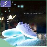 Chaussures olympiques de la vente chaude DEL pour des gosses et des adultes