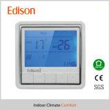 Termostato programável do aquecimento de assoalho de Digitas com o sensor de temperatura de Extral (W81111)