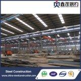 Fabricación de la vertiente del almacén del taller de la estructura de acero