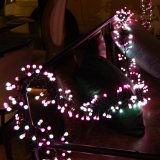 クリスマスの装飾的な照明休日の結婚式の花輪党のためのロマンチックな妖精の星LEDの軽いカーテンストリング照明