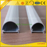 Profil anodisé argent LED aluminium pour Bandes LED avec Custom Design