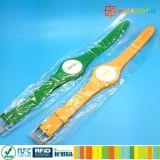 プールのための調節可能な防水プラスチックRFIDブレスレット