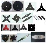 Diferentes tipos de cuchillas de cortadora y cuchilla para cortar el césped