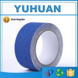 Bande adhésive de glissade d'adhérence bleue de sûreté de qualité anti