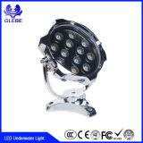 IP68プラスチック12V LEDプール10W 18W 24W LEDの水中ライト