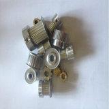 Высокоскоростная шестерня для продукции и обрабатывать шкива f алюминиевого сплава одновременного приурочивая