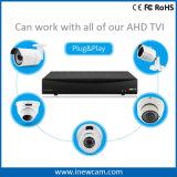 音声と構築される3MP 8CH CCTVのビデオレコーダー