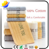 Algodón personalizado patrón caliente y toalla de baño toalla suave