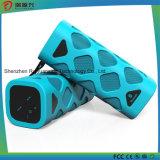 Haut-parleur portatif de Bluetooth avec le micro intégré (bleu)