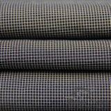 Wasser u. Wind-Beständige unten Umhüllung gesponnenes Polyester 73.5% Mischen-Spinnendes Intertexture Nylongewebe des Schaftmaschine-Plaid-Jacquardwebstuhl-26.5% (H018)