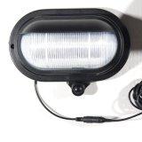 특허 LED 쉬운 태양 문 빛 옥외 IP44 방수 검정 PIR 운동 측정기 빛은 무선 벽 램프를 설치한다