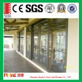 Puerta de aluminio moderna de Desing con el certificado de la ISO
