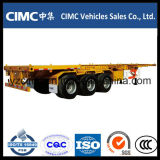 Cimc 3 de Skeletachtige Aanhangwagen van de As 40ton voor Verkoop