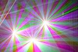 лазерный луч одушевленност 5W RGB