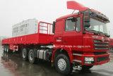 13 medidores de Semitrailer Flatbed de 7500kg com parede lateral