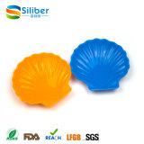 BPA en gros libèrent des assiettes de sushi de silicones de forme d'interpréteur de commandes interactif